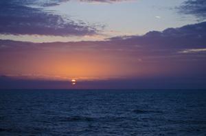 Western Caribbean Sunset